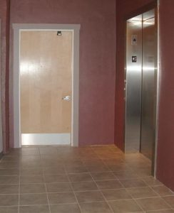 Little Susie, the only POPS elevator. It takes you up and down in its own time.