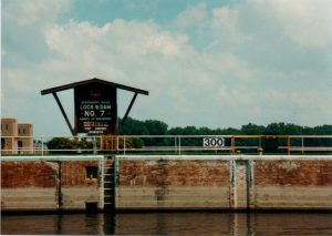 Entering a Lock and Dam