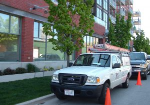 Some management companies hire outside contractors for maintenance or emergency work.