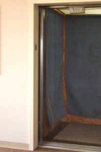 Condo move-ins and move-outs are scheduled, so that the elevator may be padded to prevent damage.